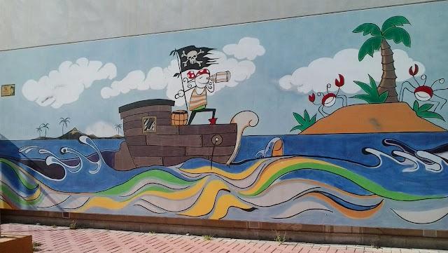 Fachada de Ed. Infantil CEIP Las Tejeras - Alcantarilla