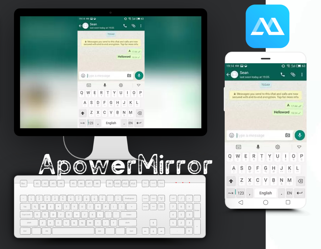 Download ApowerMirror - Mirror+Control Android/iPhone to PC