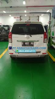 Ekspedisi FARHIYAtrans mengirim mobil Toyota Avanza dari Cirebon tujuan ke Mataram NTB dengan kapal roro, perkiraan perjalanan 3 hari..