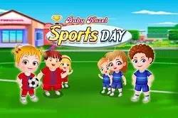 Bebek Elâ Spor Günü - Baby Hazel Sports Day