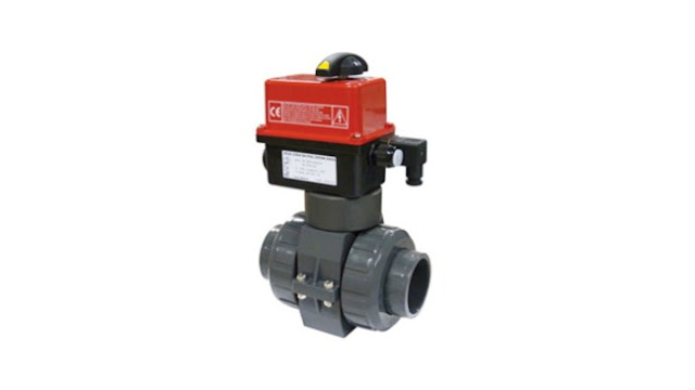 Bamo Electrically Actuated 2-Way PVC Ball Valves VE2V S4-PVC
