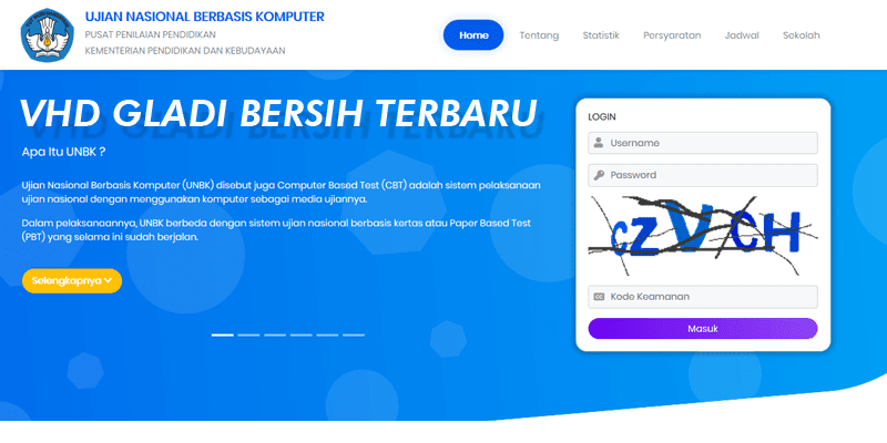 Alternatif Download VHD Gladi Bersih UNBK 2020