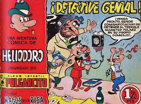 Magos de la risa nº 6 Heliodoro ¡Detective genial!