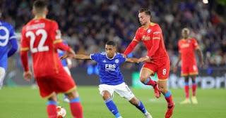 سجل نابولي تعادلاً مثيراً مع ليستر سيتي 2-2 في الدوري الأوروبي.