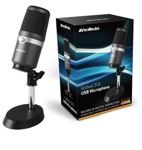 USB ไมโครโฟน AVerMedia AM310 USB Condenser Microphone