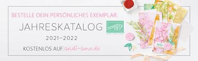 Stampin Up Jahreskatalog 2021-2022 kostenlos bestellen