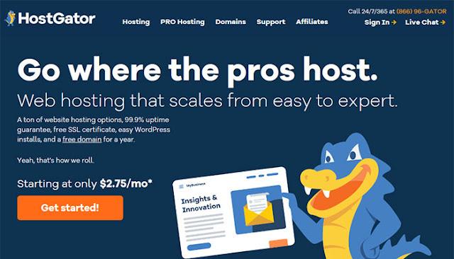 HostGator Cheap hosting plan: $2.75/mo (36 Months Price) | renewal at $6.95/mo: eAskme