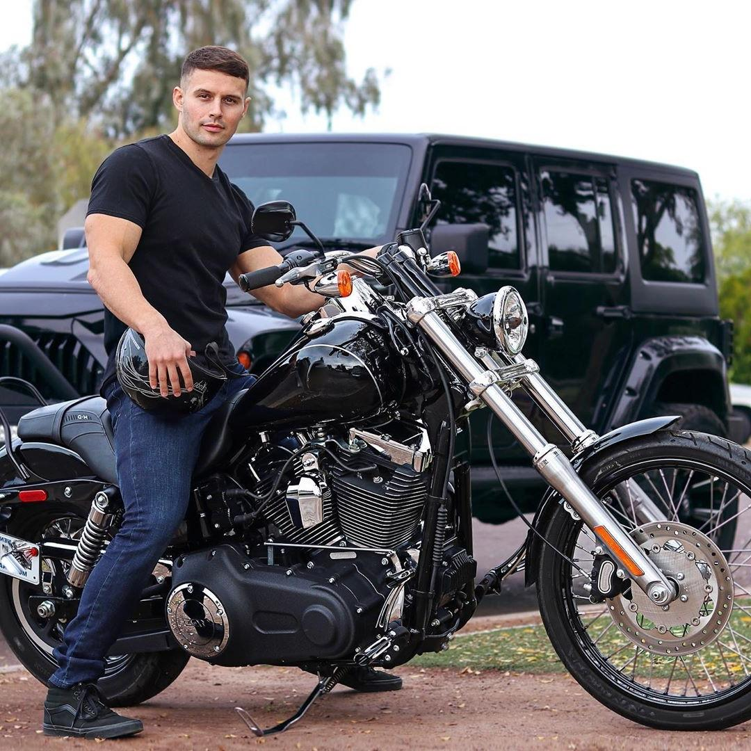 hot-masculine-daddy-motorcycle-ride-jeans-jeep