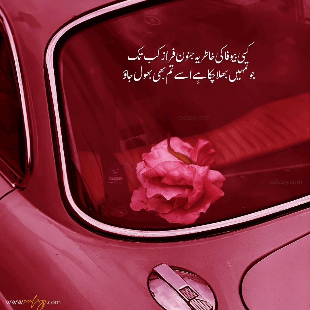 The Most Beautiful 2 Line Ahmad Faraz Poetry