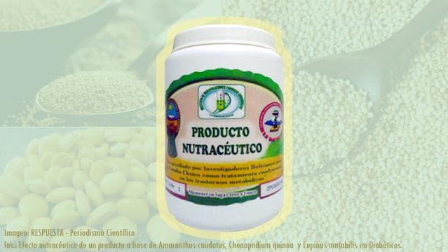 Diabetes tipo 2: Efecto Nutracéutico de un Producto a base de Amaranthus caudatus (amaranto), Chenopodium quinoa (quinua) y Lupinus mutabilis (tarwi) en Diabéticos