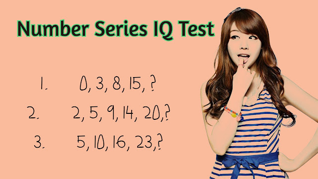 Number Series IQ question and answer
