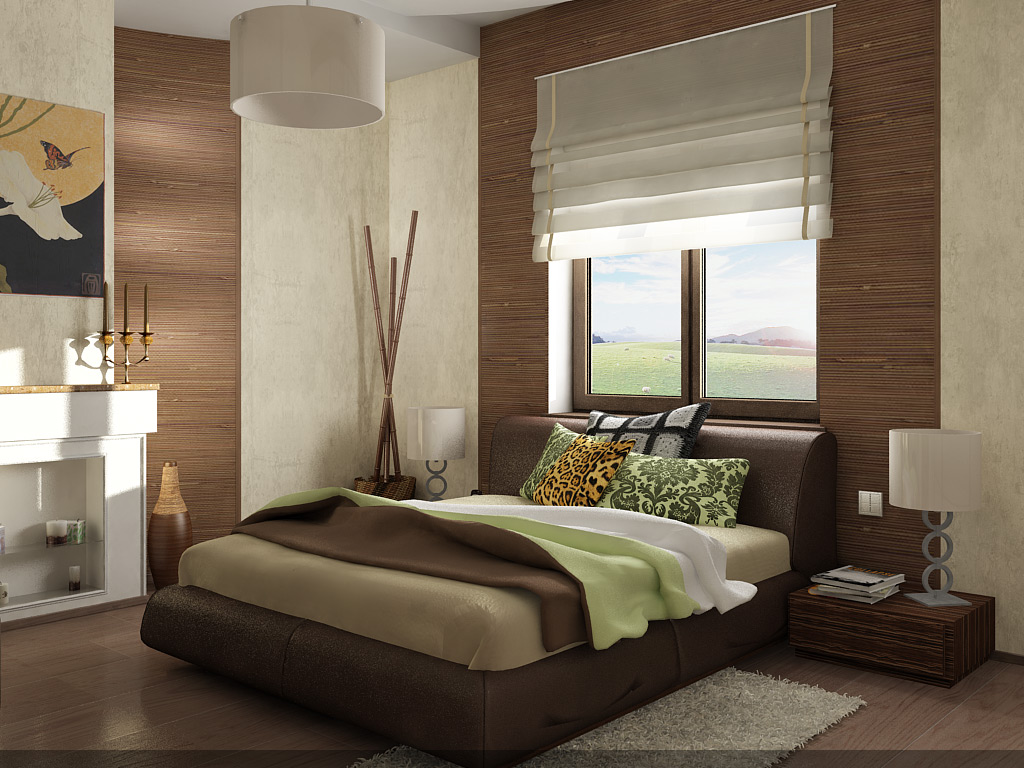 Estores Habitacion Free Combina Cortinas Con Estores Esta Idea  ~ Cortinas Para Dormitorio Principal