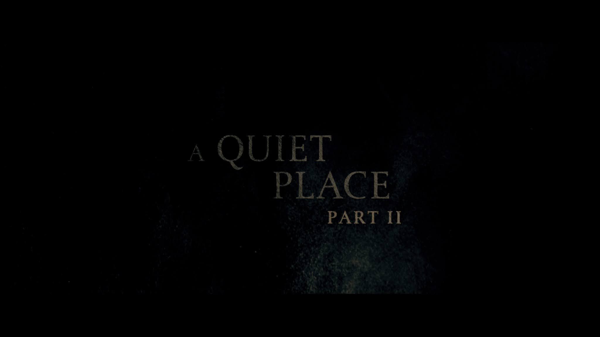 Un lugar en silencio: Parte II (2021) 4K Remux Latino