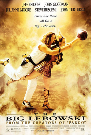 Poster Of The Big Lebowski 1998 In Hindi Bluray 720P Free Download