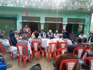 बाराबंकी : सदर विधानसभा में अल्पसंख्यक कांग्रेस कमेटी की जिलाध्यक्ष गौरी यादव द्वारा जन संवाद क्रार्यक्रम आयोजित