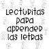 Lecturitas para aprender letras.