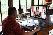 Sidang MPL PGI Resmi Dibuka Jokowi, Gubernur Olly: Terima Kasih Pak Presiden