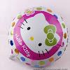 Balon Foil Bulat HELLO KITTY