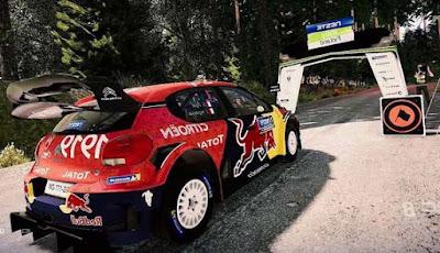 Game balapan mobil yang di setting seperti nyata dengan cuaca tidak bisa di prediksi, WRC 8 FIA World Rally Championship