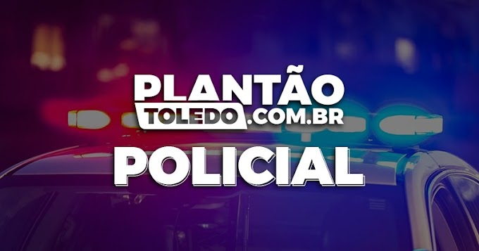 Homem com faca é detido após bater na mãe e tentar agredir policiais em Toledo