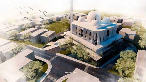Maket Masjid Jami' Bukittinggi