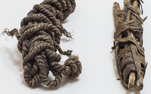 Des scientifiques identifient un cordage en tendon de 5 300 ans utilisé par Otzi, l'homme des glaces