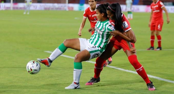Derrota por la 'mínima': Atlético Nacional luchó pero no pudo ante América, en la tercera fecha de la Liga Femenina 2021