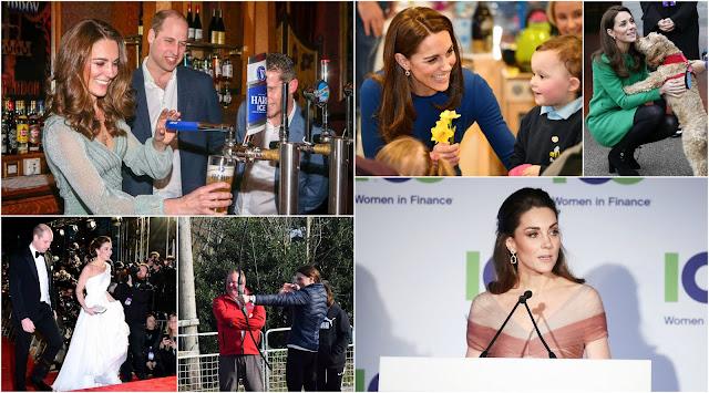 Stylizacja miesiąca - luty (księżna Kate)