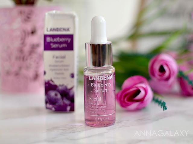 Отзыв Сыворотка для лица Lanbena Blueberry serum