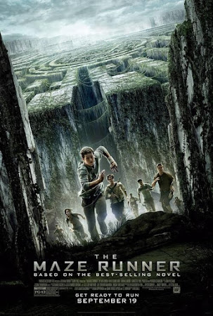 Poster Of The Maze Runner 2014 In Hindi Bluray 1080P HEVC Free Download
