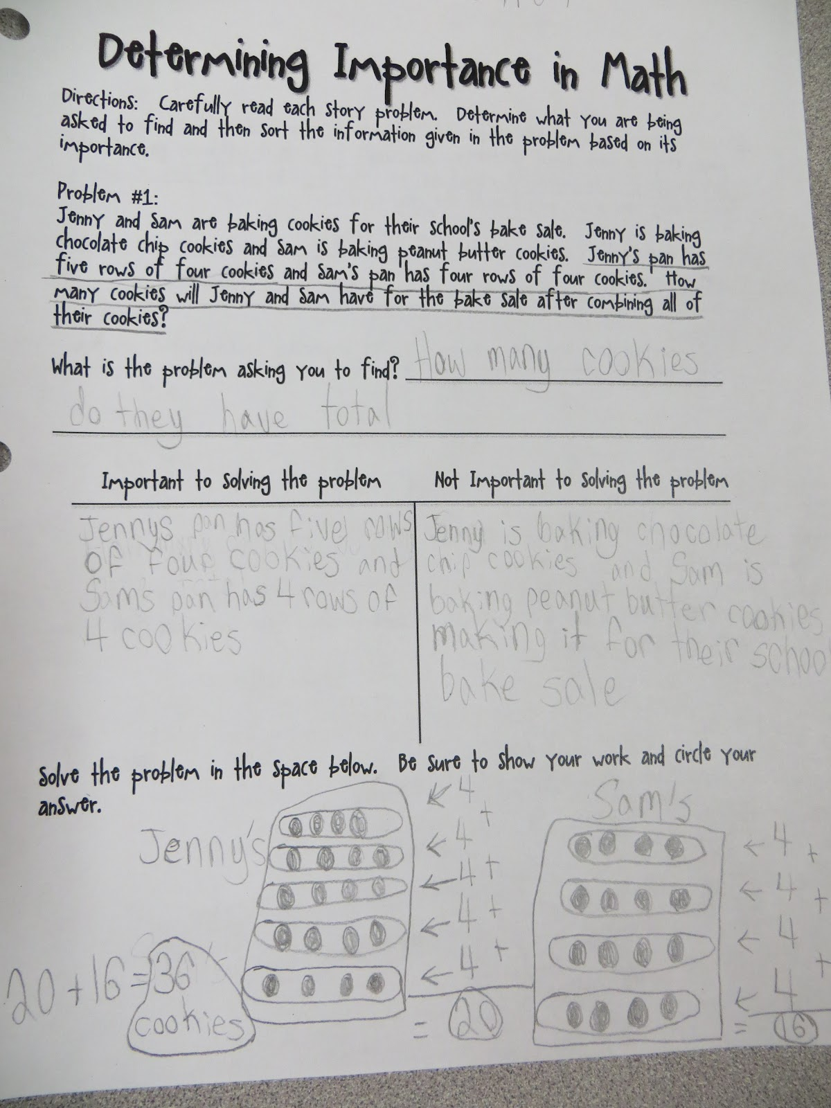 Iteach 1 1 Determining Importance In Reading And Math