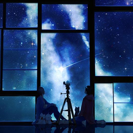 Watching Stars Wallpaper Engine