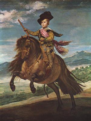 Postal de Museo del Prado, El Príncipe Baltasar Carlos, Velázquez. Editorial Artísticas OFFO
