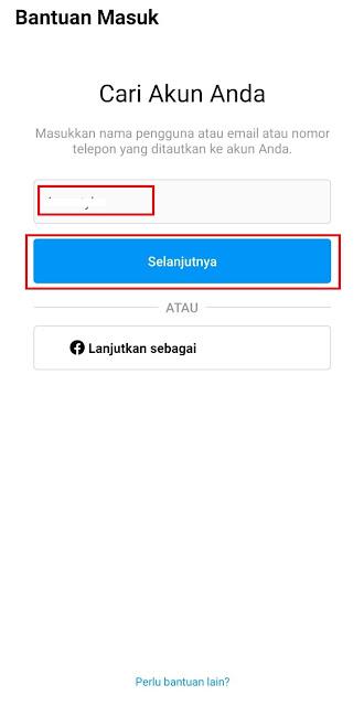 Cara Mengatasi Lupa Kata Sandi (Password) Instagram dengan Email, Nomor Telepon, atau Username