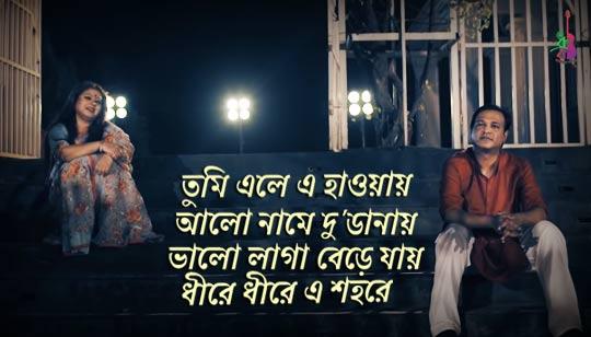 Tumi Ele Lyrics by Asif Akbar And Mowtushi
