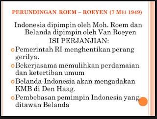 Isi Perjanjian Roem-Royen