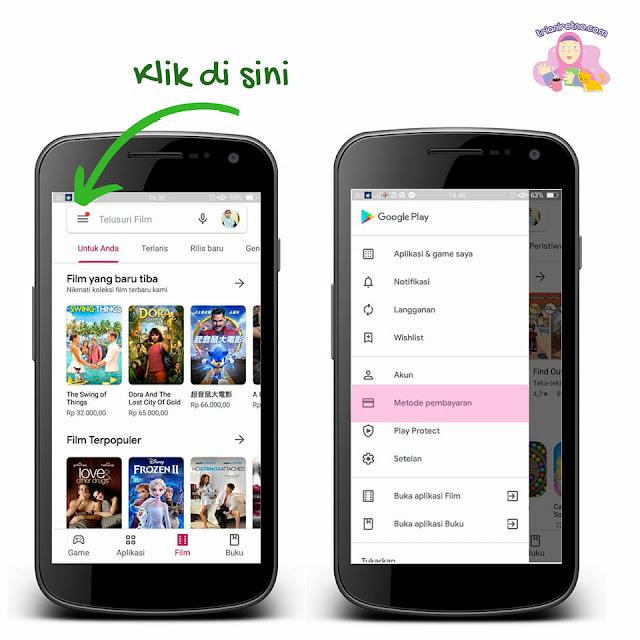 Metode pembayaran Google Play