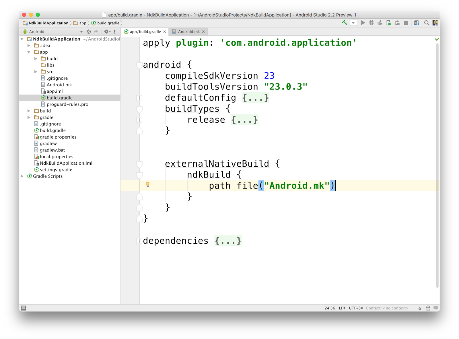 Android Developers Blog: Android Studio 2 2 Preview - New UI