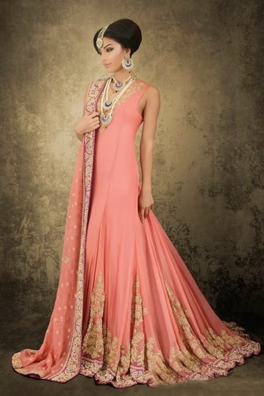 Pakistani Bridal Fashion 2014 2015 Pakistan Weddings Fashion Trends For Brides Caftan Cover Up