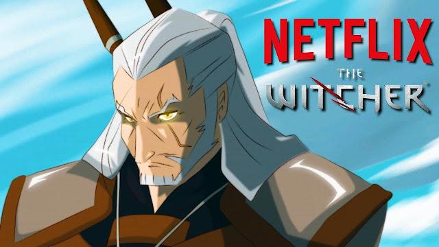 The Witcher hará una película de anime en Netflix de los autores de La Leyenda de Korra