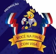 Visa Você na Final Copa do Mundo 2019 Futebol Feminino - Viagem França