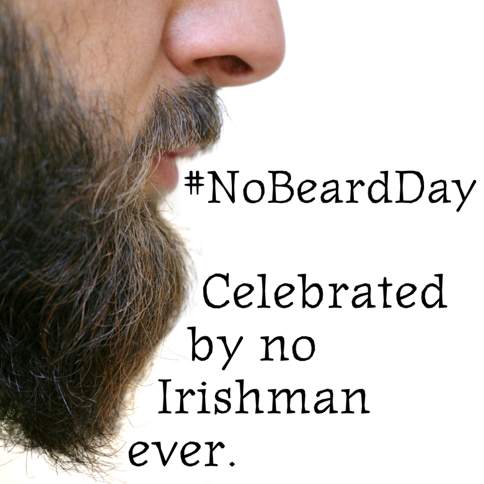 National No Beard Day Wishes Pics