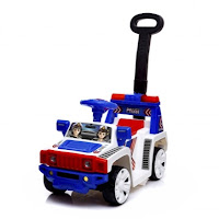 Ride-On Car SHP STJ595 Polisi Patwal Mobil Mainan Anak