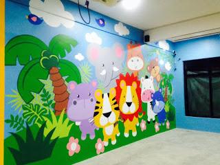 Lukisan Dinding Sekolah Paud Nusagates