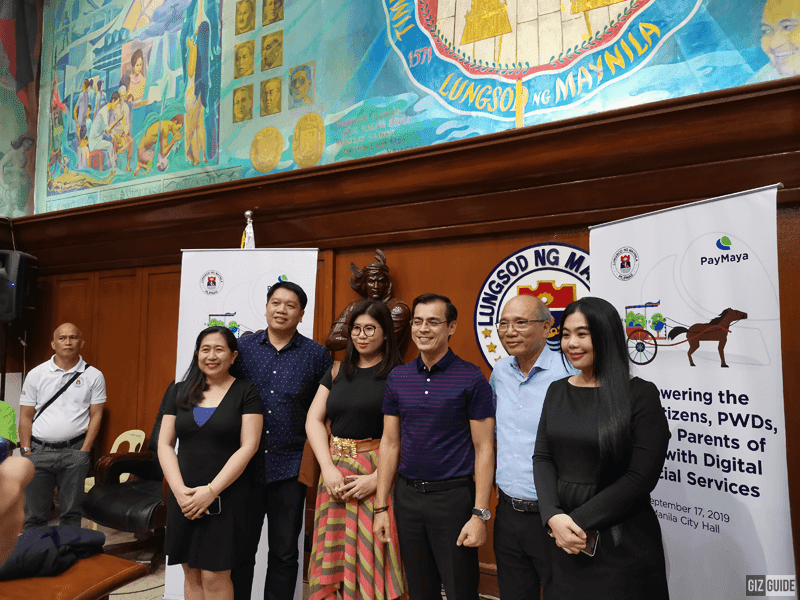 Yorme Isko Moreno signed an agreement to provide PayMaya IDs for the city's beneficiaries