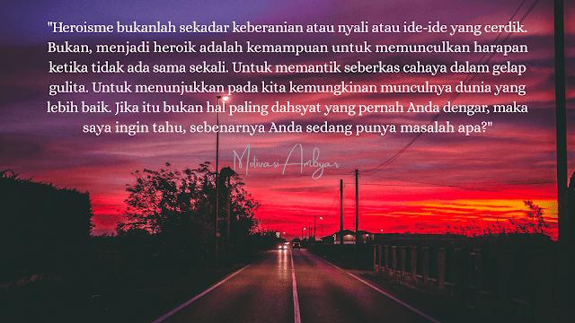 Quotes of the day, motivasi Ambyar
