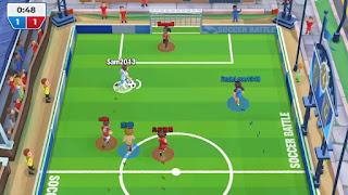 Soccer Battle Online PvP apk mod