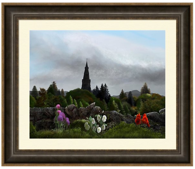 Framed fall print, Mark Taylor, Beechhouse Media, Fine Art America,