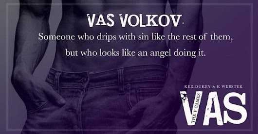 Vas by Ker Dukey & K. Webster Blog Tour