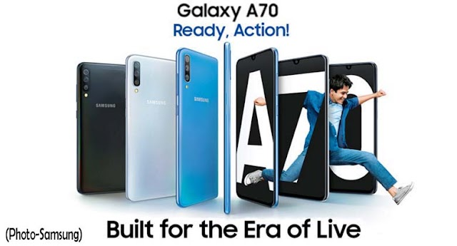 Samsung Galaxy A70: is equipped with great features